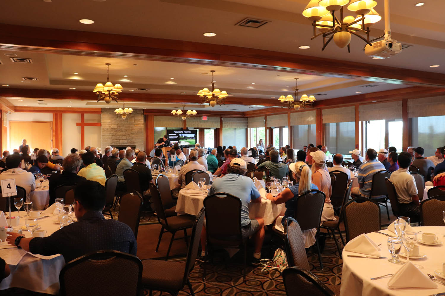 24th annual Golf Tournament Banquet